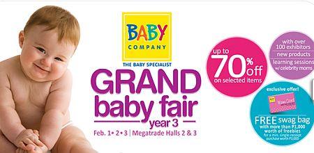 Grand Baby Fair 2013